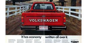 1980 VW Pickup Rabbit Ad