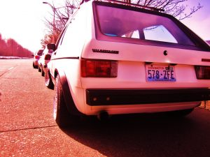 Rabbit VW Mk1 Just Hanging Out